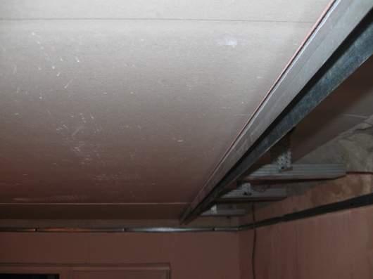 Монтаж профиля 27х28 к потолку через ГКЛ