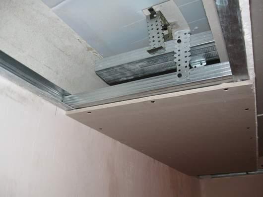 Второй уровень потолка
