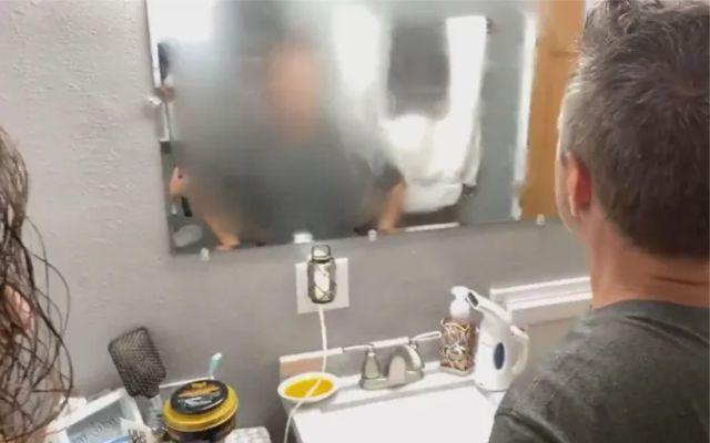 Потеет зеркало в ванной